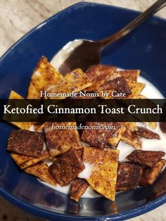 Way back when we first started our keto and low carb journeys, we had some difficulty giving up our favorite crutches (like cereal). So we didn't!