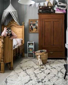 my scandinavian home: A Cosy Country Home in Rural North Sweden Swedish Cottage, Swedish House, Childrens Room, Country Bedding, Cottage Design, Cabin Design, Swedish Design, Scandinavian Home, Elegant Homes