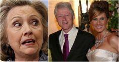 Hillary Fears Melania Trump, Demands Bill Not Do ONE Simple Thing At Debate