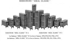 Radiateurs classiques, le modèle le plus courant à petites colonnes