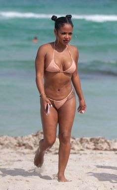 EVERYONE would love to see black R&B singer Christina Milian nude. Today is your lucky day, boys. Christina Millian, Bikinis, Swimwear, Naked, Singer, Beauty, Black, Celebrities, Fashion