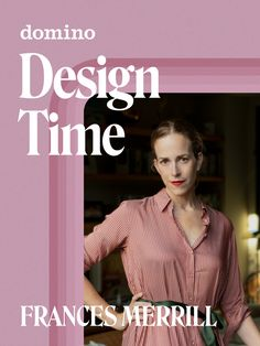 Tune in to Frances Merrill's Design Time episode to get insight on her design tips and tricks! #Sponsored Just Dream, Dream Job, Sunken Living Room, Charlotte Perriand, Big Garden, Color Pairing, Paint Colors For Home, Inspired Homes, Going To Work