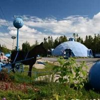 Columbia Falls, ME - World's Largest Blueberry - Wild Blueberry Land