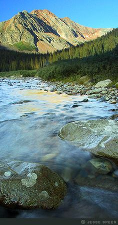 Colorado San Juan sunrise river