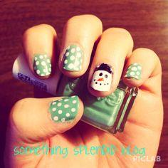 Let it Snow Nail Art