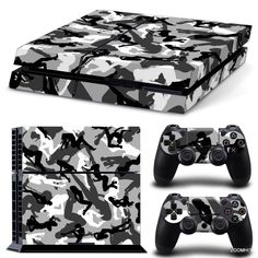 PS4 Playstation 4 Console Skin Decal Sticker Sexy Girl Camouflage Custom Design #ZoomHit