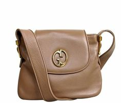 GUCCI '1973' Brown Leather Shoulder Bag #mariskelately #apparel #shopping #luxliving #luxuryshopping #onlinestore #beauty #bags #style #uniquestyle #fashion #fashionistas #lookfabulous #gucci #ilovegucci #gucciforever Gucci Handbags, Saddle Bags, Leather Shoulder Bag, Brown Leather, Luxury, Shopping, Beauty, Style, Fashion