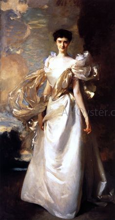 John Singer Sargent - Portrait of Daisy Leiter, Later Margaret Hyde, Countess of Suffolk Fine Art, Oil Painting Woman, Artist, Painting, Portrait Painting, John Singer Sargent, Art Uk, Singer Sargent, American Artists
