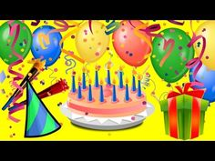 Funny birthday greetings video animation, were cartoon Monkey singing birthday song Happy Birthday to you and funny dance. You can send the short birthday vi. Happy Birthday Song Video, Happy Birthday Cake Images, Happy Birthday Cakes, Happy Birthday Wishes, Birthday Greetings, Cartoon Monkey, Dance Humor, Videos, Youtube