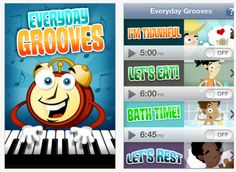 Everyday Groove- musical prompts for routines and schedules #iPad #iPhone