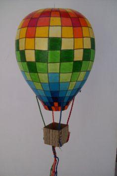 Balão em cabaça que brilha no escuro