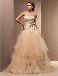 Fit and Flare Sweetheart Floor-length Lace And Tulle Wedding Dress Get awesome discounts up to 70% Off at Light in the Box with coupon and Promo Codes.