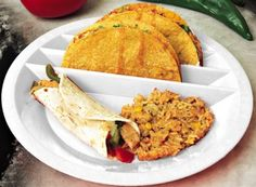 Taco Mex Taco Plate 4PACK, white: Amazon.com: Kitchen & Dining