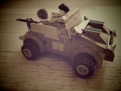 Lego military jeep