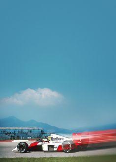 Ayrton Senna - Race - McLaren