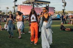 Mélodie Monrose et Grace Mahary à Coachella