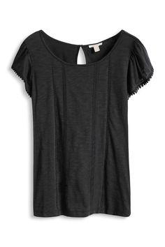 Esprit : T-shirt chauve-souris en jersey flammé à acheter sur la Boutique en ligne