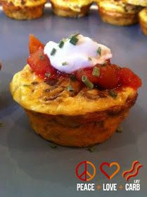 Holley's Ham and Swiss Breakfast Muffins | Peace, Love, and Low Carb