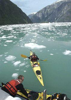 Kayaking in Alaska #JetsetterCurator
