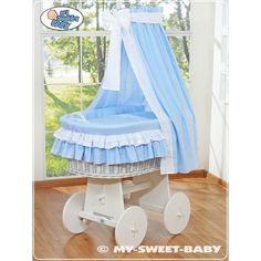 Hand made wicker crib cradle moses basket with drapes Highest quality FEATURES: - Basket size: 100 cm (L) x 70 (W) - cotton with certificate Ökotex AND . Moses Basket, Baby Hands, Baby Shop, Bassinet, Wicker, Duvet Covers, Pillow Cases, Toddler Bed, Handmade