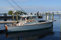 One Of A Kind - Rybovich.  See her at the Fort Myers Boat Show, Nov 8 - 11, C Dock. Gorgeous!