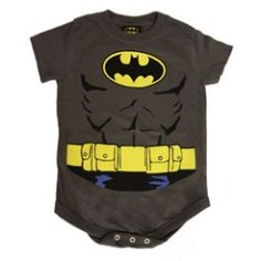 Superhero Snapsuits for Geeky New Dads.  My baby will have this!  Screw geeky dad... geeky Momma!