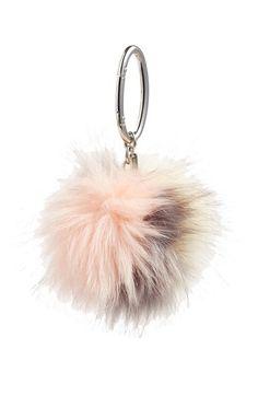 Halogen® Patchwork Faux Fur Pompom Bag Charm Christmas List 2016 68f8d683211c5