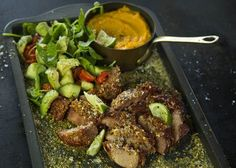 Lemon and herb pork chops are not only easy to cook, but they taste exceptional. Dinner Tonight, Pork Chops, Steak, Lemon, Herbs, Beef, Cooking, Recipes, Food