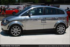 Chrome Audi A2 is different