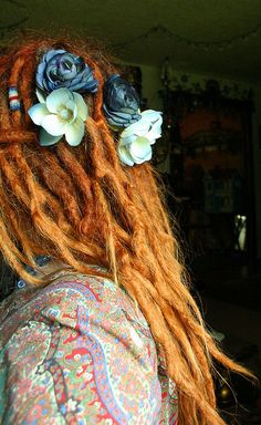 Flowers and dreads