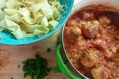 The Original Great-Grandma Turano's meatballs posting.  Love the story and LOVE the meatballs.  Big time kid fav and freezer friendly.