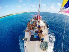 Sailing with Tranquilo Charters Aruba!