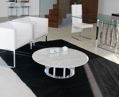 Tavolino basso rotondo NAXOS | Tavolino rotondo - ITALY DREAM DESIGN