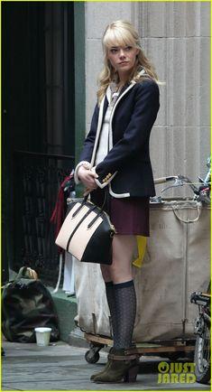 Emma Stone in the Amazing Spider-Man sequel