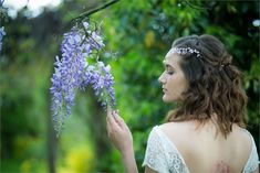 The wedding venue's garden will be in bloom - there's great photo opportunities like this one with wisteria Wedding Blog, Wedding Venues, Wedding Ideas, Vintage Bunting, Spring Wedding Inspiration, Vintage Wedding Theme, Wisteria, Norfolk, Great Photos