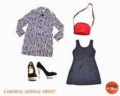 Laboral Animal Print www.orangeblue.cl