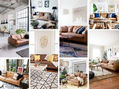 Sofá de couro cool | Danielle Noce