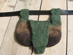 Wet felted bag Textile Art, Felting, Fiber Art, Macrame, Textiles, Lifestyle, Bag, Atelier, Felt Fabric