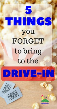 5 Things you forget to bring to the drive-in! What should I bring to the drive-in movies? 5 life savers you don't remember to bring to the drive-in but wish you had! Drive-in movie ideas for a fun and safe movie night. Tips for a stress-free movie night at the drive-in!