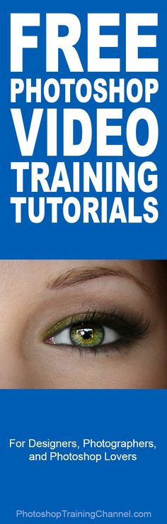 The best Free Photoshop video training tutorials! #Photoshop #photography #tips #tutorial #PSD #Adobe # lightroom photoshoptraining...