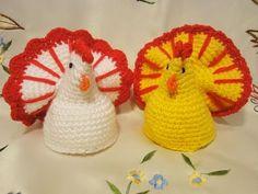 Вяжем к Пасхе. Подборка видеоуроков Наталии Корнеевой Crochet Egg Cozy, Crochet Birds, Crochet Fall, Crochet Animals, Crochet Doilies, Free Crochet, Amigurumi Patterns, Crochet Patterns, Crochet Chicken