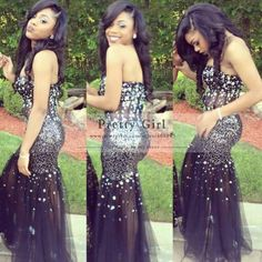 high end formal dresses on blac girl - - Yahoo Image Search Results