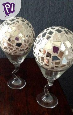 Esferas de espejo tipo mosaico para decoración , Spheres mirror mosaic for decoration, #manualidades #arts #crafts #bricolaje #reciclar #handmade #pintaideas #hogar #decoracion #DIY #HazloTuMismo...