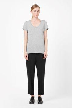 COS   Silk t-shirt
