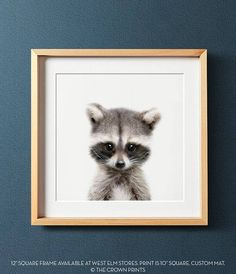 Baby Animal Printable Art from The Crown Prints - lovingly designed, original digital files available automatically after purchase at http://www.etsy.com/your/purchases . View more animals from The Crown Prints here: