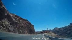 Driving the Hoover Dam Access Road