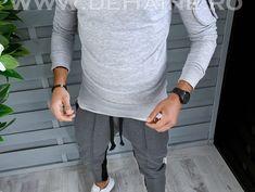 Bluza barbati gri slim fit 2569 i16-4