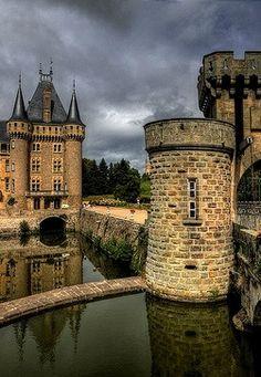 Chateau La Clayette, Borgogne, France