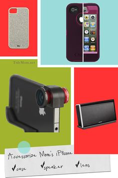 Accessorize her iPhone Gift Guide for the Trendy Techy Mom at TidyMom.net