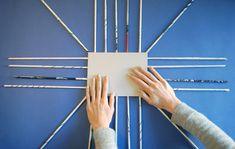 DIY panier tresse - 05 - coller carton